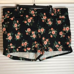 Torrid Floral Shorts, Size 22